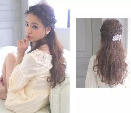[新娘发型视频教程]中长发新娘发型教程_2014旗袍新娘